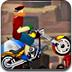 沙漠摩托特技赛