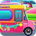 女孩的冰淇淋车
